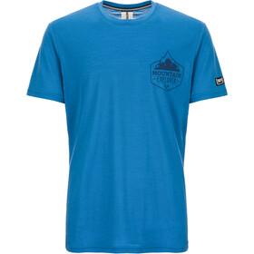 super.natural Graphic Camiseta Hombre, azul